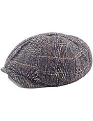 Sombreros de moda gorras, Casquillo de boina al aire libre Lana de otoño Señoras de
