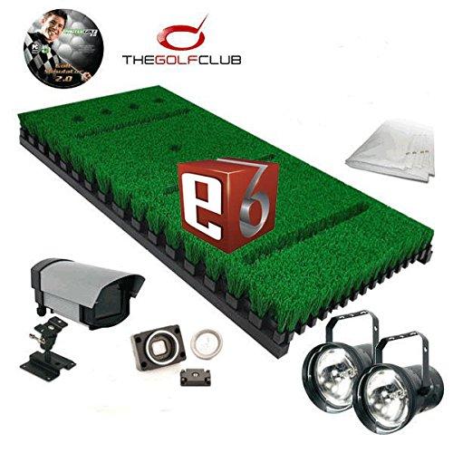 ProTee Base Pack One Pro Golf Simulator mit TGC und TruGolf E6 Softwarepaket