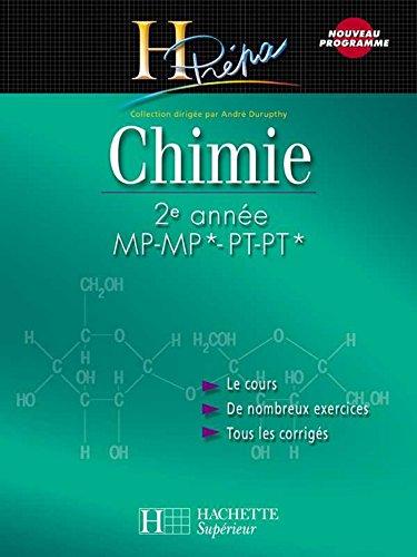 Chimie 2e année MP-MP*/PT-PT* : Cours a...