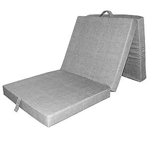 Vitalispa materasso pieghevole materasso da viaggio letto for Materasso ospiti pieghevole