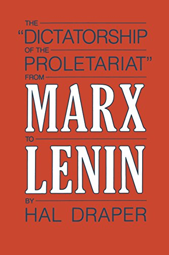 The Dictatorship of the Proletariat,