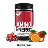 Optimum Supplemento Nutrizionale Amino Energy, Fruit Fusion 270G - 267 gr