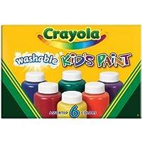 Crayola - 6 Colori a Dita Lavabili