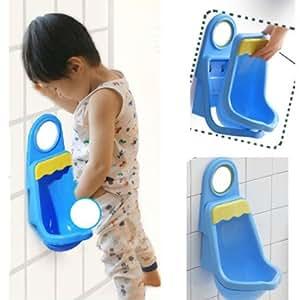 Foxnovo Nouveauté Kids enfant enfant en bas âge Potty Pee formateur formation urinoir WC pour les petits garçons (bleu)