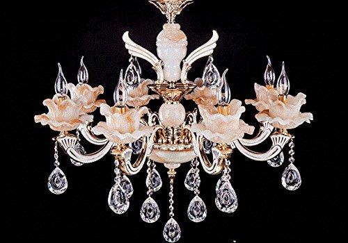 Ho lampadario di cristallo imitazione giada studio soggiorno