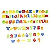 KINGSO 78pcs set Magnetic Alphabet Lernspielzeug abc kinderspielzeug Buchstabe fuer Kinder