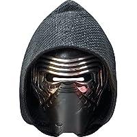 Careta de Cartón | Máscara de Kylo Ren | Mascarilla Jedi Oscuro | Antifaz Star Wars