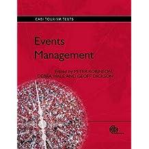 Events Management (Cabi Tourism Texts)