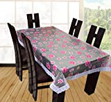 #1: Yellow Weaves Dining Table Cover Waterproof Floral 6 Seater 60X90 Inches