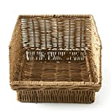 Riviera Maison - Rustic Rattan - Briefablage, Dokumentenablage - Office Basket - im coolen Hamptons Look