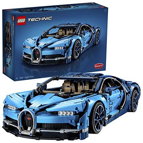 LEGO Technic 42083 Bugatti Chiron Set di Costruzioni, Modello da Collezionare di Auto Sportive, Oltre 3.599 Pezz