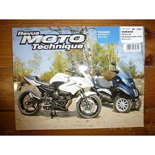 Ré-édition - MP3 400ie XJ6 Diversion Revue Technique moto Piaggio Yamaha Etat - Bon Etat Occasion