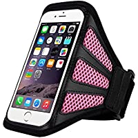 "King of Flash iPhone 6 Plus 5.5"" Sports Armband Cover Case for Jogging, Running, Gym Work, Cycling"