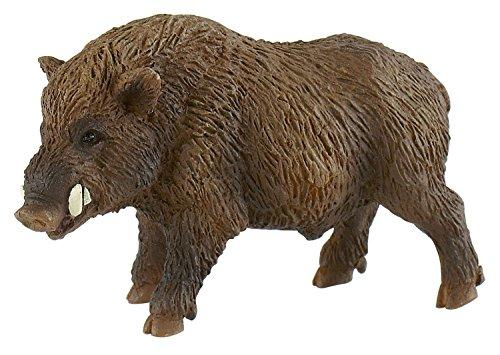 Bullyland 64446 - Spielfigur, Wildschwein, ca. 8,5 cm