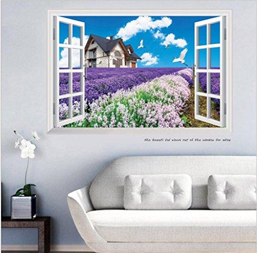 kkll-stickers-muraux-autocollants-de-mur-creative-3d-lavande-maison-peinture-decorative-60x90