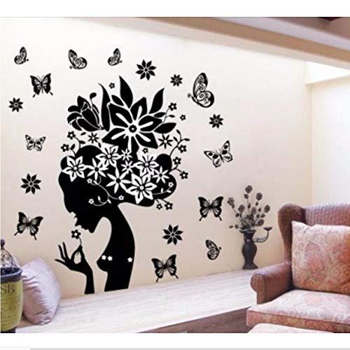 Eintracht-tv (Verkaufen Sie Blumen Fee Wandtattoos Tv Hintergrund Raumdekorationen 2175. Diy Home Decals entfernbare Wand-Kunstdruck-Poster 3,5 85 * 76)