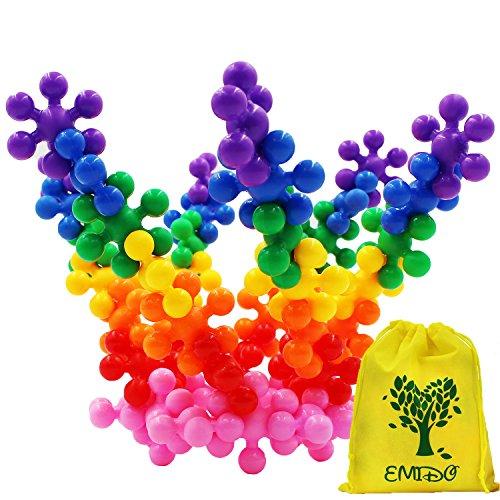 emido-120-stuck-kinderspielzeug-interlocking-plastic-spielzeug-bausteine-plastikbausatze-padagogisch