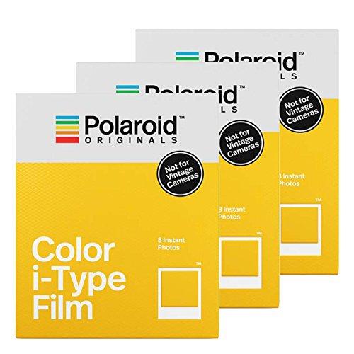 Polaroid color i-type film 8pc(s) 88 x 107mm instant picture film - instant picture films (8 pc(s))