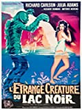CREATURE FROM THE BLACK LAGOON – French Movie Wall Poster Print - 30CM X 43CM Brand New