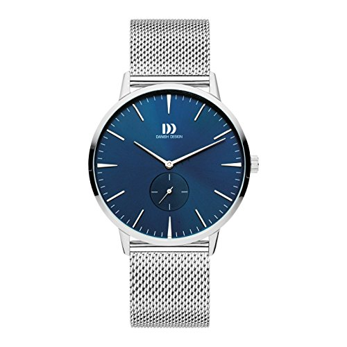 Danish Design Reloj Analógico para Hombre de Cuarzo con Correa en Acero Inoxidable IQ68Q1250