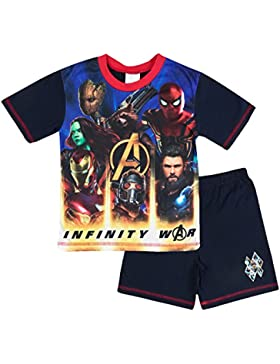 Kids Boys pijama de los Vengador