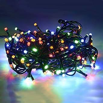 Luci Mini Lucciole 100 LED 220V Luce di Natale Albero Presepe Multicolore