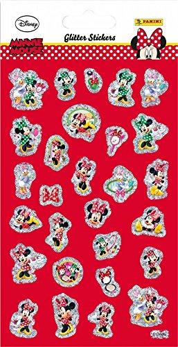 Minnie Maus Glitzer Sticker [Import allemand]
