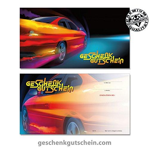 """50 Stk. Gutscheinkarten """"Standard"""" für Tankstellen, Werkstätten, Servicestationen TK1220, LIEFERZEIT 2 bis 4 Werktage !"""
