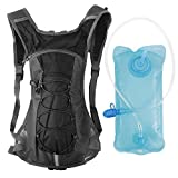Unigear High Quality Hydration Pack Backpack with 70 oz 2L Water Bladder for Running Hiking Cycling Climbing Camping Racing