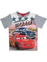 Disney Cars 2 T-Shirt 2017 Kollektion 92 98 104 110 116 122 128 Shirt Kurz Jungen Sommer Neu Lightning McQueen Grau