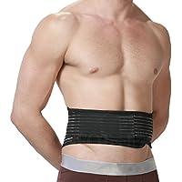 Magnetischer Wärmegürtel - Selbsterwärmende Rückenbandage für Hüftstützung - Doppelte Zugbänder für Kompression... preisvergleich bei billige-tabletten.eu