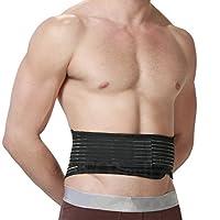 Cette ceinture biomagnétique NEOtech Care ( TM ) pour le dos avec pierres de tourmaline et aimants a une double fonction. En plus de la large bande d'ajustement velcro, elle dispose également de sangles élastiques de compression doubles. Ceci permet ...