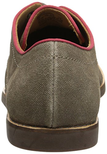 Sebago Mens Norwich Oxford Oxford, Taupe Suede, 13 M US Taupe Suede