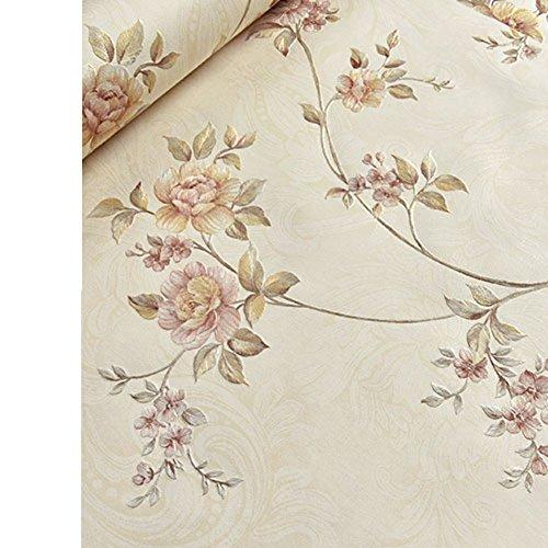Tapete/Frische Blume romantische Tapeten/Schlafzimmer Wohnzimmer Studie Tapete/Tapeten Küche Restaurant Hochzeit/Outdoor-Tapete-B