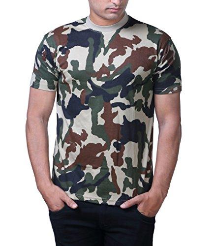 Army-Cotton-Round-Neck-T-Shirt