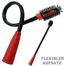 maxorado XL Radiador Cepillo Muebles Brocha Polvo Pincel flexible para aspirador ZB para Bosch Siemens AEG Miele Samsung Panasonic