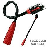 Maxorado XL Heizkörperbürste Möbelpinsel Staubpinsel flexibel Aufsatz Staubsauger zb für