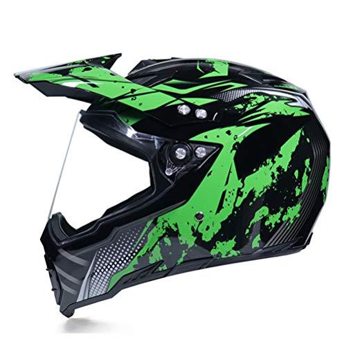 Generic Herren Motorradhelme Flip Up Rennhelm Modular Dual Lens Motorradhelm Integralhelme Casco Capacete Casque Moto