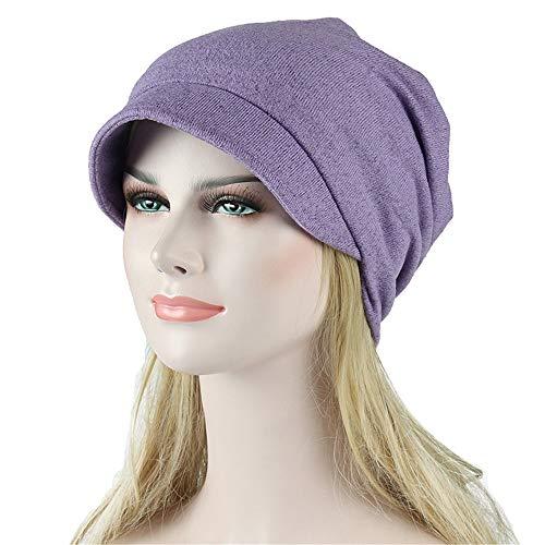 Saingace Damen muslimische Kopftuch Indische Turban-Hüte Turbanmütze Kopfbedeckung Schlafmütze für Haarverlust