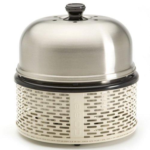 Cobb Pro Grill Teekanne Holzkohle Edelstahl, Weiß-Barbecue Grill, Holzkohle, 735cm², Teekanne, Grill, Edelstahl, Weiß)