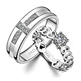 Best Gifts For Boy And Girl - Peora Love Birds 925 Silver Plated Hearts Review