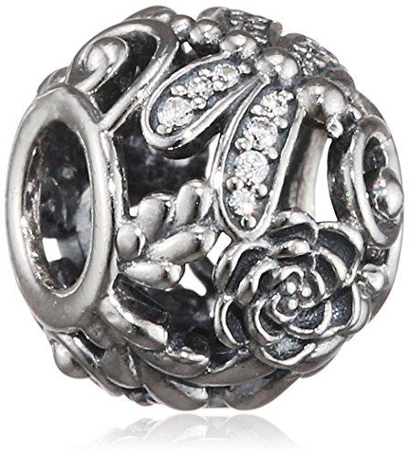 Pandora Damen-Bead Funkelnde Libellen 925 Silber Zirkonia transparent - 791733CZ