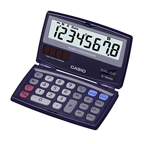 Casio SL-100VER Taschenrechner, blau