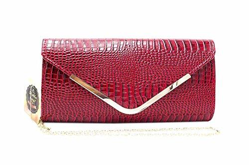 Hello Bag!, Poschette giorno donna Rosso