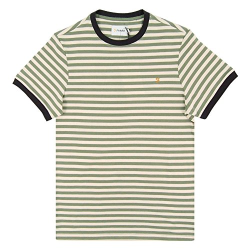 Farah Herren T-Shirt grün grün Grün