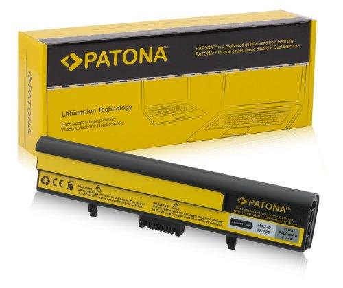 PATONA Laptop Akku für DELL XPS M1530 - [ Li-ion; 4400mAh; schwarz ] (Xps Akku Für M1530 Dell)