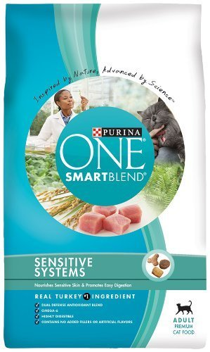 Purina One Sensitive Systems Cat, 7-Pounds by Purina