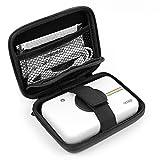 Astuccio   Custodia Per Polaroid Snap Touch   Snap - Con Mini Moschettone + Tasca Interna - Design Nero - DURGADGET immagine