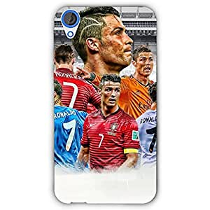 EYP Cristiano Ronaldo Real Madrid Back Cover Case for HTC Desire 820