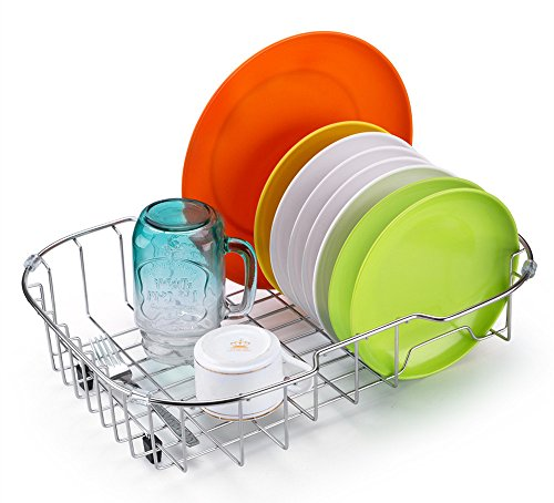 sanno-kitchen-over-the-sink-dish-drainer-rack-for-drying-glasses-silverware-bowls-plates-rustproof-s